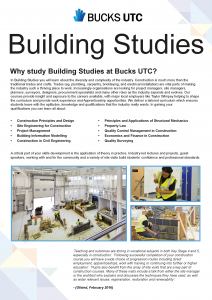 Building Studies flyer (type B) v1 (1)